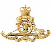 Royal Artillery Cap Beret Badge